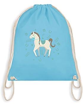 Tiermotive Kind - Süßes Pony - Turnbeutel I Gym Bag