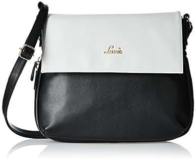 Lavie Women's Punk Med Csb Zip Sling Bag (Black)