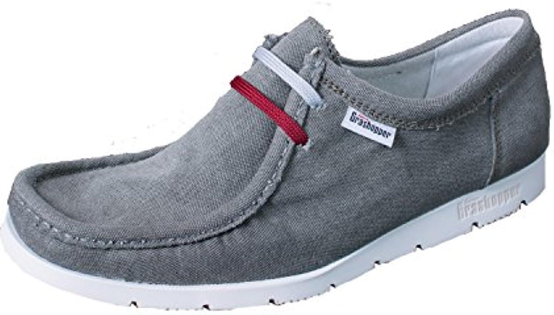 Sioux Grashopper Herren Canvas Mokassin Schuhe