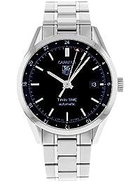 TAG Heuer Herren-Armbanduhr Analog edelstahl Grau WV2115.BA0787