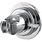 Labkiss LK029 Support de pommeau de douche avec ventouse et adhésif 3M finition chromée