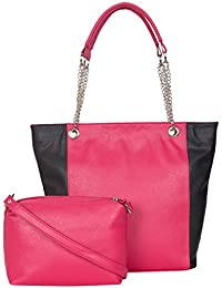 ADISA AD4042 Women Handbag With Sling Bag Combo
