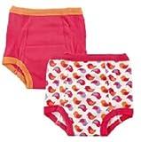 luvable friends 2er Pack für Mädchen Trainerhosen 3 Jahre 14,1 bis 15,4 Kg Unterwäsche Töpfchentraining Toilette Baby Töpfchen