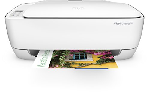 HP Deskjet 3636 Multifunktionsdrucker (Instant Ink, WLAN Drucker, Scanner, Kopierer, AirPrint) (Deskjet Mobile Drucker)