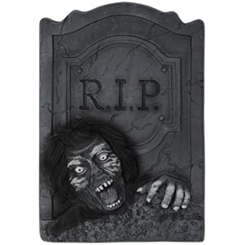 Beistle Zombie RIP Tombstone, 21-Inch by 13-1/2-Inch by Beistle