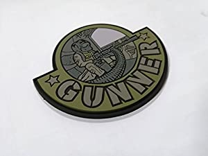 19.55 Patch PVC GUNNER AIRSOFT