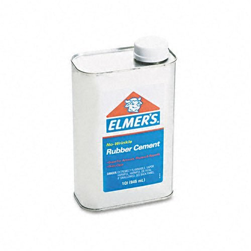 elmers-rubber-cement-repositionable-1-qt-sold-as-2-packs-of-1-total-of-2-each-by-elmers