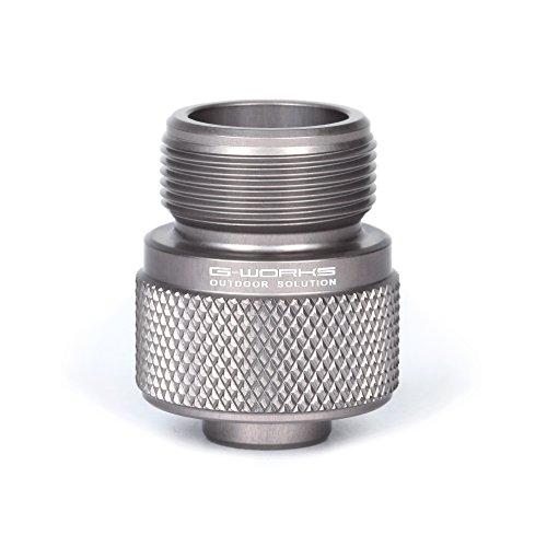 Propan-gas-kanister (g-works Epi-Adapter Gas Adapter/Anwendung eine Lindal Ventil Kanister Gas für Propan Gas Gerät.)