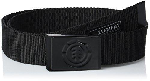 Element Herren Beyond Belt Gürtel, All Black, One Size Element Herren
