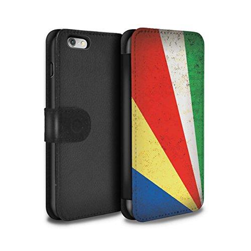 Stuff4 Coque/Etui/Housse Cuir PU Case/Cover pour Apple iPhone 5C / Tunisie/Tunisien Design / Drapeau Africain Collection Seychelles