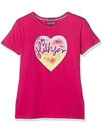 Tommy Hilfiger M Hifliger Cn Knit S/S, T-Shirt Bambina
