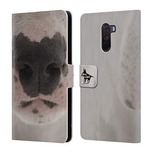Head Case Designs Offizielle Jimmy The Bull Nase Foto 2 Brieftasche Handyhülle aus Leder für Xiaomi Pocophone F1 / Poco F1
