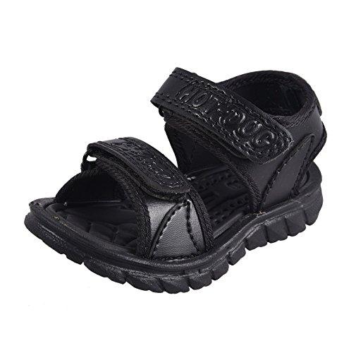Hot Dog HD-6021 Children EVA fashion sandal for boys and girls - Black col (8)
