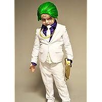 Escuadrón Suicida de Muchachos El Disfraz de Traje Blanco de Estilo Joker  EU110-116 ( 6172a3a49511