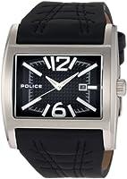 Reloj de caballero Police Dynamo 12170JS/02A de cuarzo, correa de piel color negro de Police