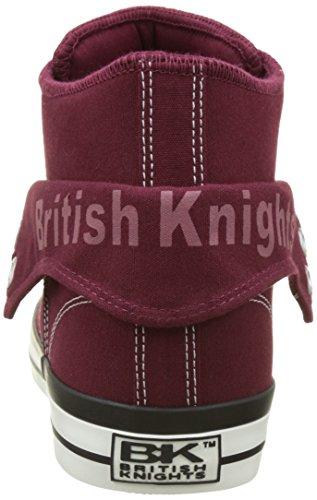 British Knights Roco, Baskets Hautes Homme Rouge (Red)