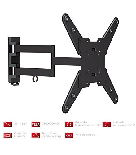 Fonestar STV-683N - Soporte TV orientable brazo articulado