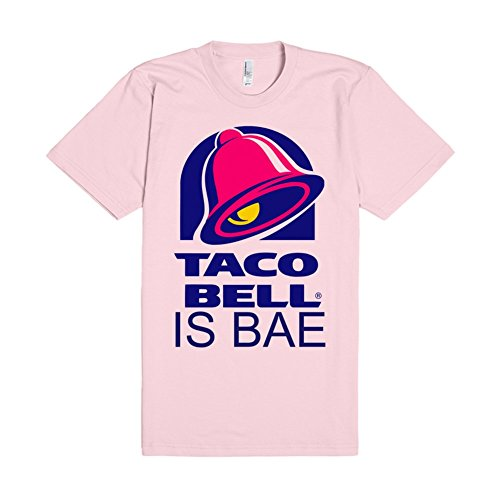 taco-bell-is-bae-m-light-pink-t-shirt-funny-food-taco-bell-shirts