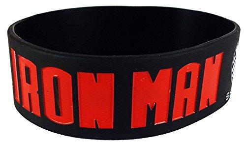 eshoppee iron man the genius play boy silicone wrist band for man and women