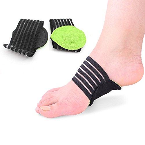 Meiyya Fußpolster Einlegesohlen Unterstützung zur Druckentlastung (Support-komfort Turnschuhe Arch)