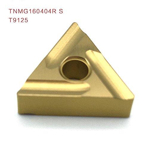 10pcs tnmg160404r s t9125 externe drehwerkzeuge carbide einfügen hochwertige drehbank schneidwerkzeug aus einfügen