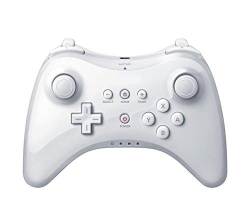 PowerLead CHM502 Manette De Jeu, contrôleur sans fil pour Nintendo Wii U-White