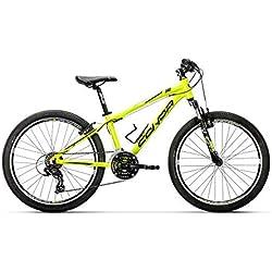 Conor 340 21S Bicicleta Ciclismo Unisex Adulto, Amarillo, Talla Única