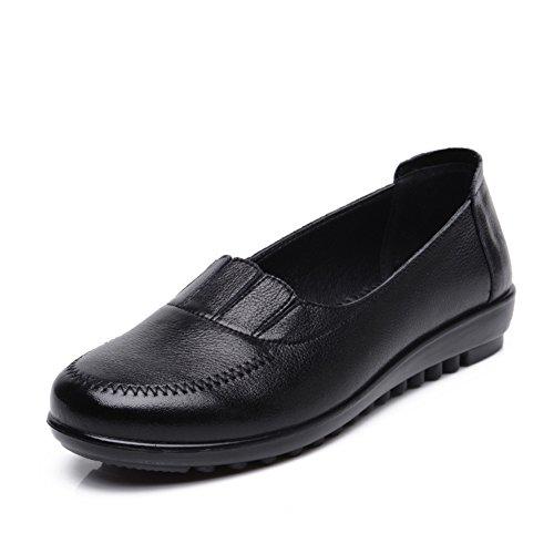 Maman et chaussures de fond mou/Plat moyen et vieux ans chaussures femme/Plus de chaussures de la taille des personnes âgées A