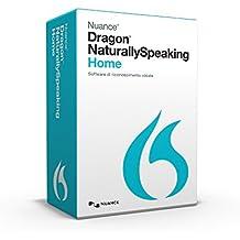 Nuance Dragon NaturallySpeaking Home 13, ITA - Software de reconocimiento de voz (ITA, ITA, Windows 10 (32/64-bit) Windows 8 (32/64-bit) Windows 7 (32/64-bit) Windows Server 2008 R2 64-bit, Intel Dual-Core/AMD, 2.2 GHz, IE 9 Firefox Google Chrome DVD-ROM)