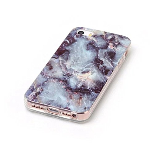 HUANGTAOLI Custodia in Silicone TPU Case Cover per Apple iPhone 5 5S SE C18