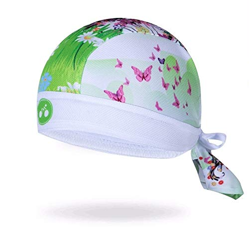 Imagen de looperate ciclismo cap capucha bufanda hombres y mujeres bicicleta bicicleta bicicleta de montaña  deportiva turbante turbante pirata sombrero diadema verde qaz513