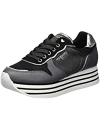 0f53441c16ca Trussardi Jeans Women's Running Heart Eyelet Gymnastics Shoes