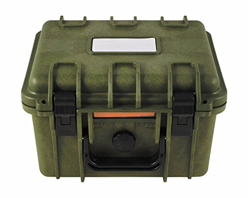 Box, Kunststoff, wasserdicht, 26,7x23,9x17,6 cm, oliv