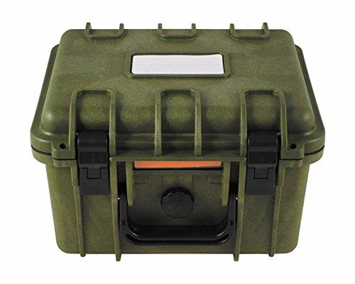 dry box Box, Kunststoff, wasserdicht, 26,7x23,9x17,6 cm, oliv