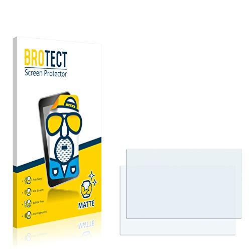 brotect 2X Entspiegelungs-Schutzfolie kompatibel mit Opel IntelliLink R 4.0 2016 Astra K Displayschutz-Folie Matt, Anti-Reflex, Anti-Fingerprint