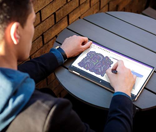 HP Spectre x360 Core i5 10th Gen 13-inch FHD Touchscreen Laptop (8GB/512 GB SSD/Windows 10/MS Office 2019/Dusk Black/1.27 kg), 13-aw0204TU Image 11