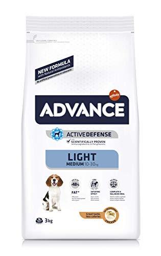 Advance Light Pienso Perros Medium Adult - 3000 gr