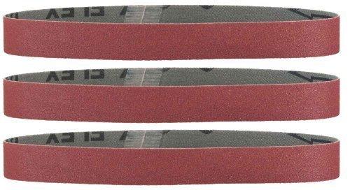 Preisvergleich Produktbild Metabo 3 Schleifbänder 50 x 1020 mm P 80, NK, DS, 629064000