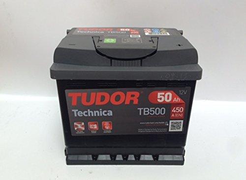 Batteria Tudor 50Ah 450A Technica