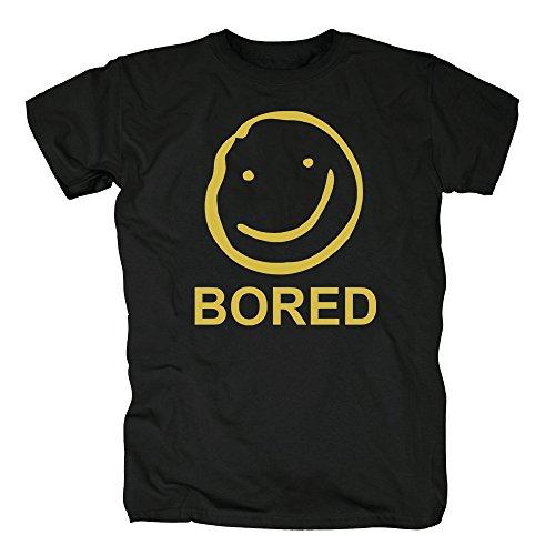 TSP Bored T-Shirt Herren L Schwarz