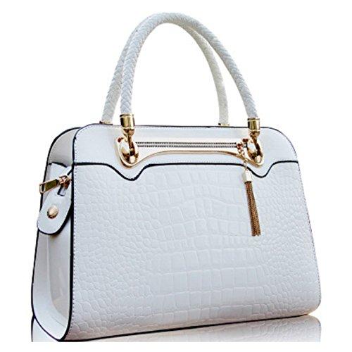 Vafmel ,  Damen Tasche weiß
