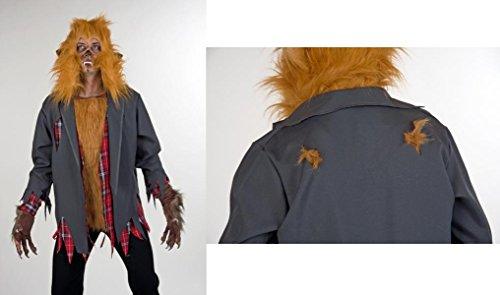 Kostüm Horror Wolf Werwolf Fasching (Kostüm Werwolf Shirt)