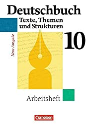 Deutschbuch Gymnasium - Allgemeine Ausgabe: 10. Schuljahr - Abschlussband 6-jährige Sekundarstufe I - Arbeitsheft mit Lösungen