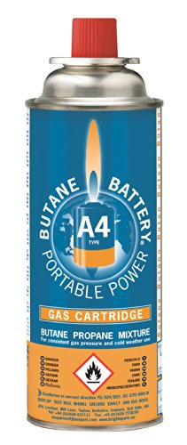 41zdfA8SNKL - Bright Spark  Gas Cartridges, 220 g, Pack of 4 - BS0136