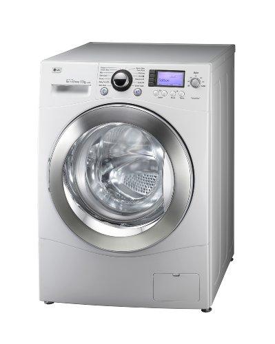 LG Electronics F-1443KD Waschmaschine (FL, A+++ AA, 1.65 kWh, 1400 UpM, 11 kg, 78 L) weiß