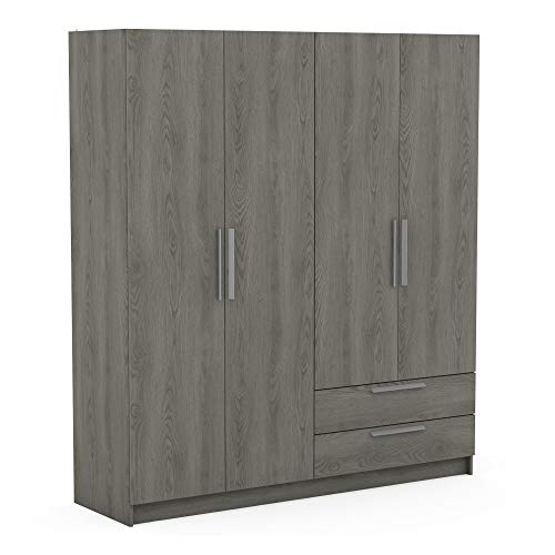 Demeyere 242718 hudson - armadio in truciolato, 176,3 x 51,5 x 198,5 cm