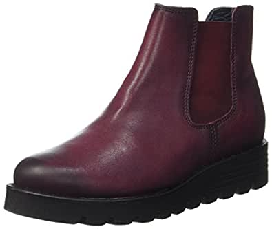 Apple of Eden Nanda, Chelsea Boots Femme, (Bordo 59), 40 EU