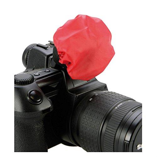 DÖRR Blitzvorsatz-Set Diffuser Caps Small 8cm (weiß, blau, gelb, rot)
