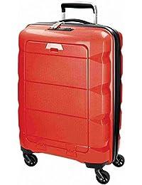 Maleta Trolley Polipropileno para ordenador Maletín portátil iPad equipaje de mano con ruedas (542 Rojo)