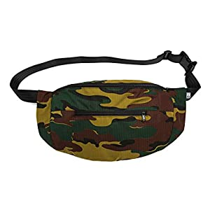 Bauchtasche large Camouflage-Mischgewebe, Hip bag, shoulder bag, fanny pack, Hüfttasche, belt bag, sac banane, cross bag